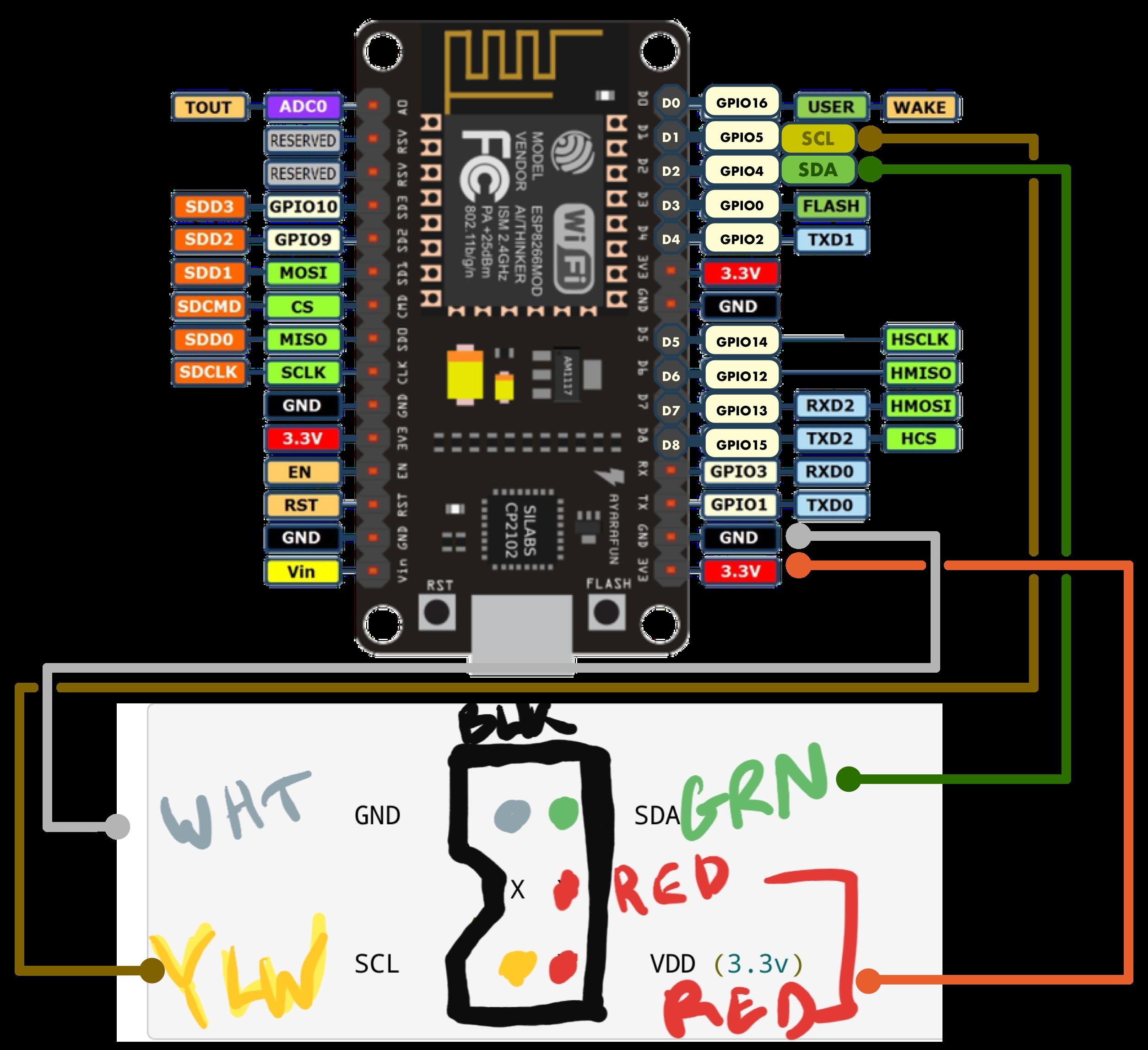 Devon P. Hubner | Wii Nunchuck Wiring Diagram |  | Devon P. Hubner